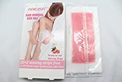 Arezia Hair Removal Full Body Wax Strip 20+2