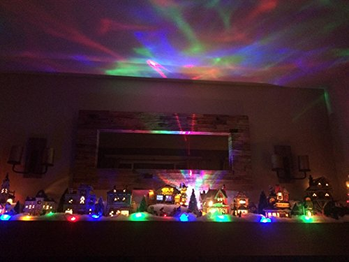 Soaiy Color Changing Aurora Projection Led Night Light