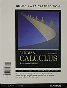 thomas calculus 13th edition pdf