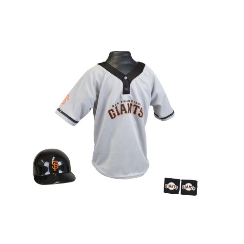MLB San Francisco Giants Youth Medium Team Uniform Set
