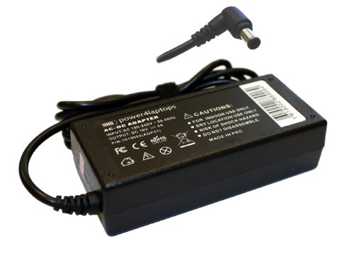 Sony Vaio PCG-4L1L Compatible Laptop Power AC Adapter Charger
