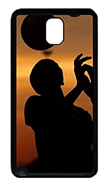 buy Samsung Galaxy Note 3 Case,Black Edge,Super Soft Tpu Plastic Case(Can Be Customized)Latest Style Case,Ultra-Thin Case,Slim Fit Protective Case-Head Juggling Iphone