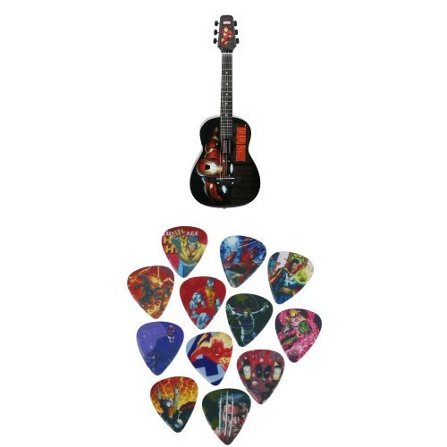 Peavey Iron Man 1/2 Size Acoustic Acoustic Guitar With Peavey Marvel Picks