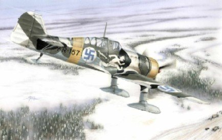 Fokker D XXI 4Sarja Fighter w/Wasp Junior Engine (w/Resin & Photo-Ecth) 1/48 Special Hobby