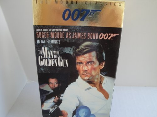 007 The Man With The Golden Gun VHS