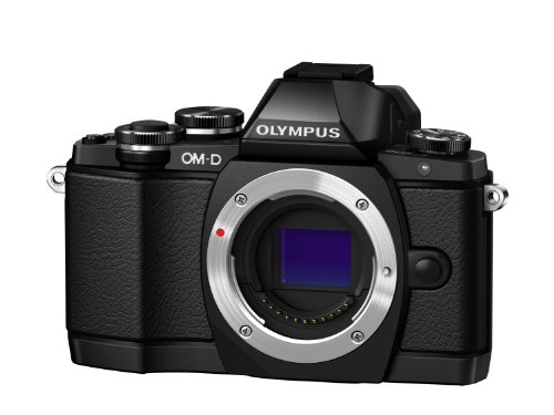Olympus OM-D EM10 Body Only - Black (16.1MP, Live MOS) 3.0 inch LCD