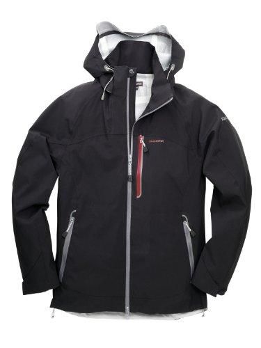 CRAGHOPPERS Iguazo Men's Jacket, Black, M