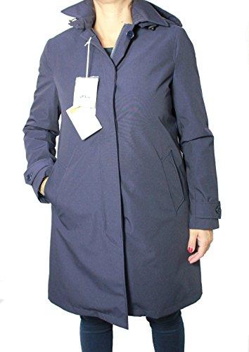 ASPESI trench donna XL blu mod APPUNTAMENTO I3 N 3N75 A791 Made in Italy
