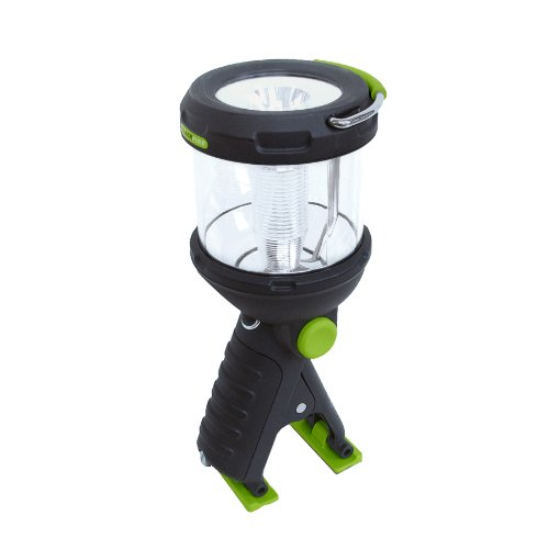 Blackfire Bbm910 Clamplight Led Lantern, Black/Green
