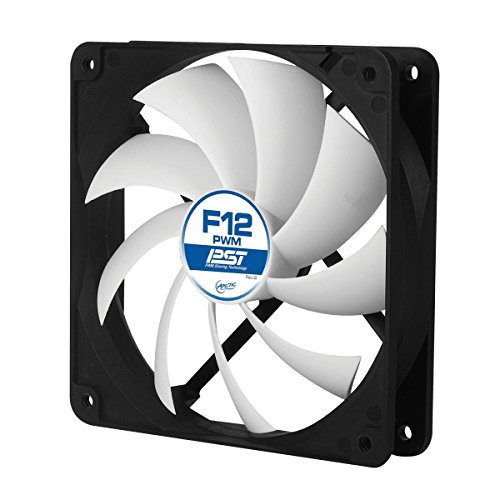 ARCTIC F12 PWM PST - Standard Low Noise PWM Controlled Case Fan with PST Feature (Arctic Cooling F12 compare prices)