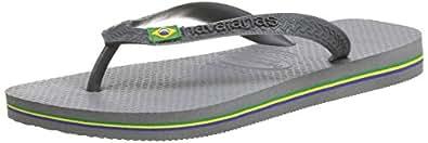 Havaianas Brasil, Unisex-Erwachsene Zehentrenner, Grau 5178, 37/38 EU (35/36 BR)