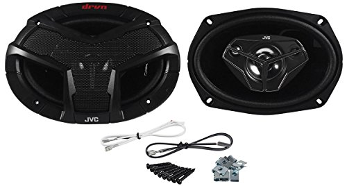 "Pair Of Jvc Cs-V6948 6"" X 9"" 4-Way Coaxial Car Speakers 400 Watts Peak / 60 Watts Rms Per Speaker (800 Watts Peak / 120 Watts Rms Per Pair)"