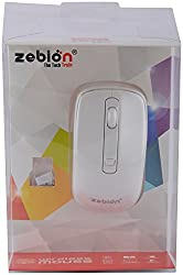 Zebion Cordless Mouse- Prada Mouse (Red and White)