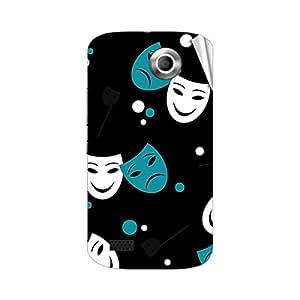 Garmor Designer Mobile Skin Sticker For Gionee V4 - Mobile Sticker