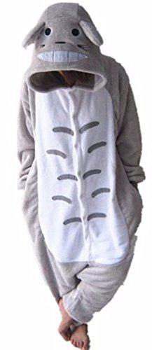 WOWCOS Adult Unisex Animal Kigurumi Cosplay Costume Pajamas Onesies,Totoro S