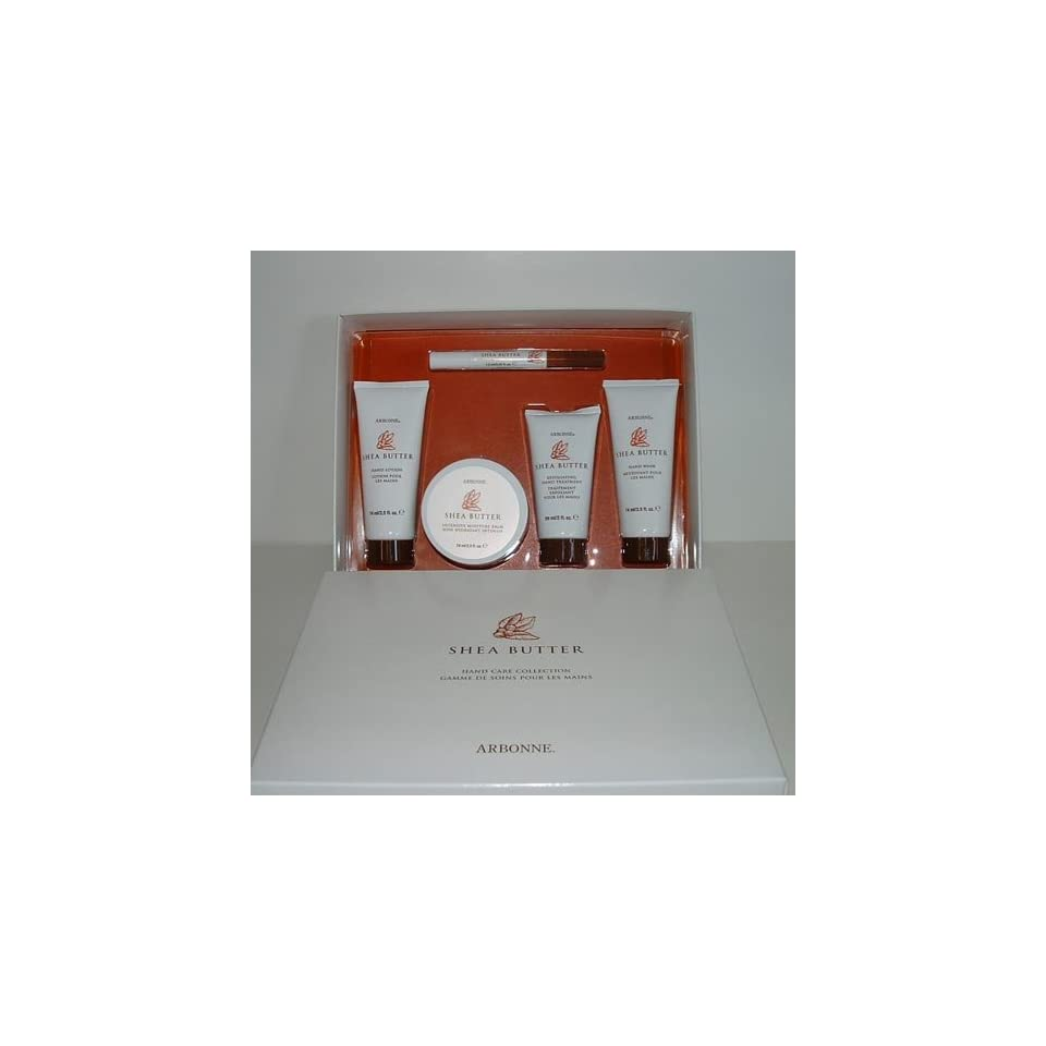 Shea Butter Hand Care Collection Box Set