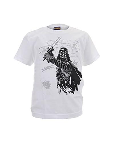 Star Wars T-Shirt Darth Sketchy weiß