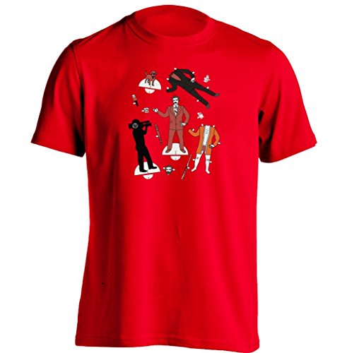 Arnoldo Blacksjd Anchorman Ron Burgundy Cut Out Mens & Womens Printing T Shirt Medium