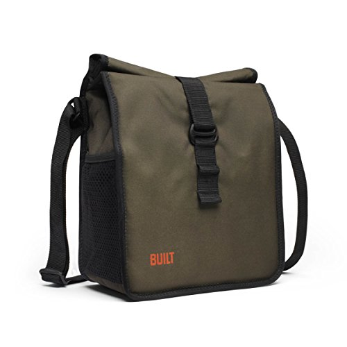 BUILT NY Crosstown Insulated Lunch Bag, Olive - 1