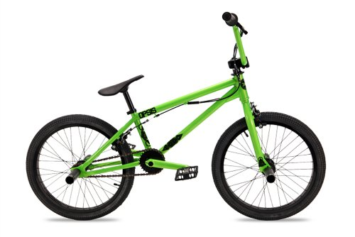 Dk Opsis Bmx Bike With Black Rims (Green, 20-Inch)