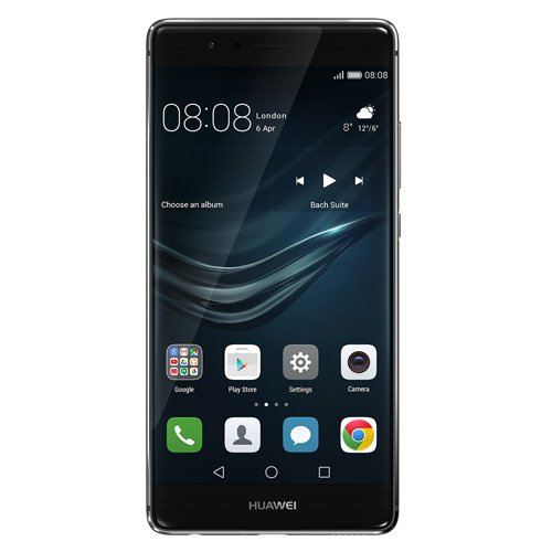 Huawei P9 SIMフリースマートフォン (グレー) 【日本正規代理店品】EVA-L09-GREY