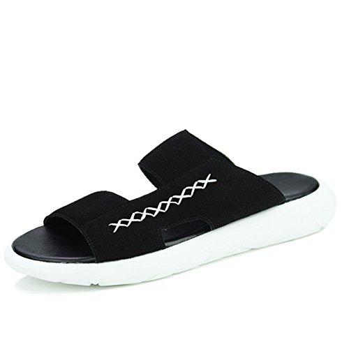 pantofole Estate Maschio/La versione coreana di infradito/Anti-scivolo onda drag/sandali/Ciabatte da spiaggia tempo libero estate/flops-A Lunghezza piede=25.3CM(10Inch)