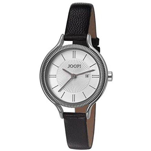 Joop! Jessica JP101762004 - Reloj para mujeres, correa de cuero color negro
