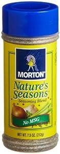 Morton's Nature's Seasons Seasoning Blend, 7.5 Ounce (Pack of 12)