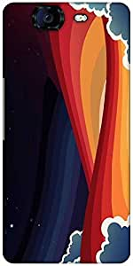 Snoogg Universal Paradigm 2465 Designer Protective Back Case Cover For Micromax Canvas Knight A350