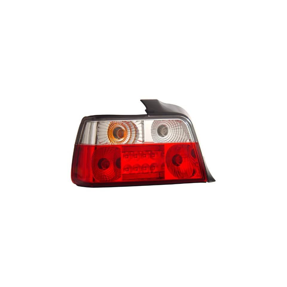 1992 1998 Bmw 3 series E36 4 Dr Led Tail Lights Red/clear