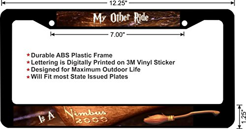 harry-potter-style-my-other-ride-is-a-nimbus-2000-custom-novelty-license-plate-frame