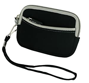 rooCASE Neoprene Sleeve Carrying Case for Nikon Coolpix AW100 Digital Camera
