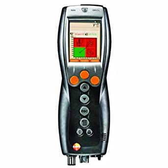 Testo 0563 3372 71 #1 Commercial/Industrial Combustion Analyzer Kit
