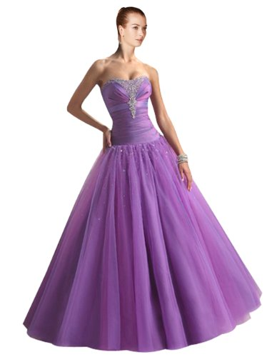 41VsRE8gHIL Maillsa Tulle Prom Dress Evening Dress Cocktail Dress with Beadings