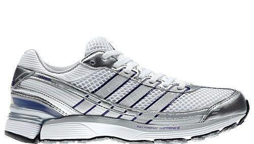 Adidas - Adizero Sonic 2 W Womens Shoes In Running White/ Collpurpl / Metallic Silver, Size: 9.5 B(M) US Womens, Color: Running White/ Collpurpl / Metallic Silver