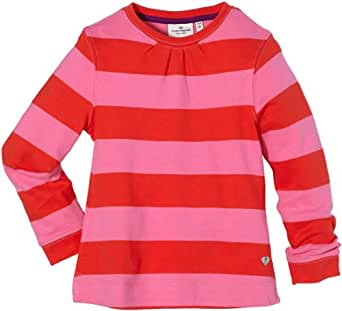 TOM TAILOR Kids Pull Manches longues Fille - Rouge - Rot (4462  very red) - FR : 8 ans (Taille fabricant : 128/134)