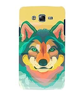 EPICCASE Colorful Fox Mobile Back Case Cover For Samsung Galaxy J5 (Designer Case)