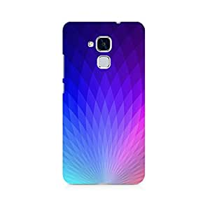 Motivatebox- The Glowing Lotus Premium Printed Case For Huawei Honor 5c -Matte Polycarbonate 3D Hard case Mobile Cell Phone Protective BACK CASE COVER. Hard Shockproof Scratch-