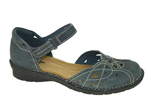 Clarks Womens Nikki Tempo Sandals Navy Style 65015, 9.0W