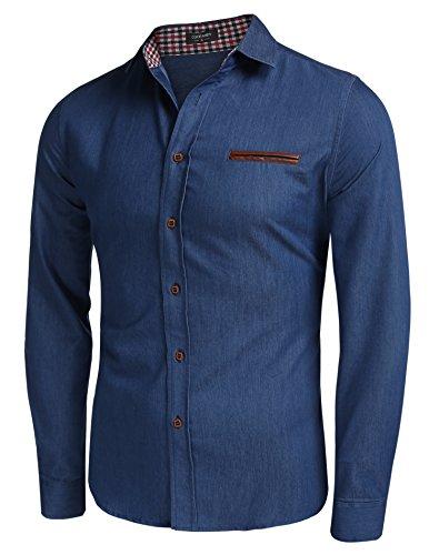 aulei-fashion-herren-hemd-jeans-slim-fit-langarmshirt-in-jeansoptik-denim-t-shirt-kentkragen-himmelb