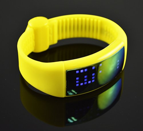 ForTech 3D Sun-glass Digital Pedometer, Yellow Fortech B00KS6ETRG