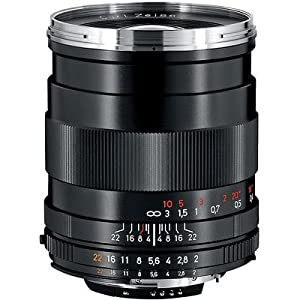 Zeiss 35mm f/2.0 Distagon T* ZF.2 Series Manual Focus Lens for Nikon F Bayonet SLR System.
