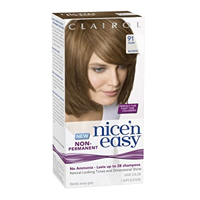Best Cheap Deal for Clairol Nice 'N Easy Non-Permanent Hair Color 91 Dark Blonde 1 Kit from Clairol - Free 2 Day Shipping Available