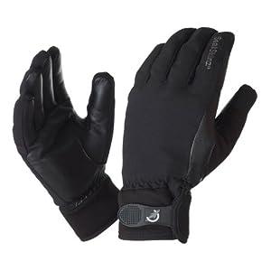 SealSkinz Men's All Weather Riding Gloves - Black, Large