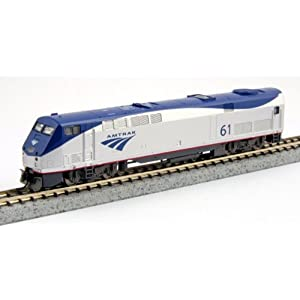 Amazon.com: Kato USA Model Train Products GE P42 #61