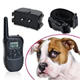 Boxed 4 in 1 Remote Control LCD Display Dog Training or Anti Bark Collar (FREE BATTERIES READY TO USE)by Generic