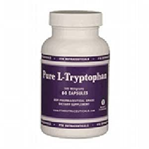 FTH Nutraceuticals L-Tryptophan - 500mg 60 Caps [Health and Beauty]