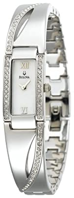 Bulova Women's 96T63 Crystal Bracelet Watch