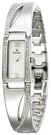 Bulova Womens 96T63 Crystal Bracelet Watch