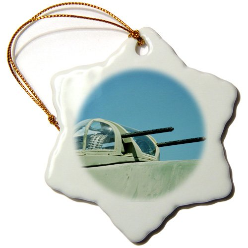 Danita Delimont - War Planes - B-17G Flying Fortress in air, war plane - US24 BFR0090 - Bernard Friel - Ornaments - 3 inch Snowflake Porcelain Ornament (orn_91310_1)